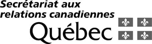Logo Secrétariat aux relations canadiennes