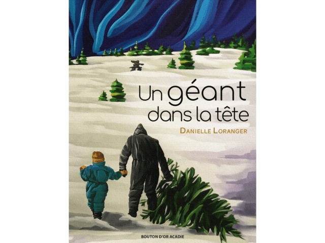 Couverture du livre « Un géant dans la tête »