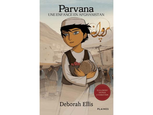Couverture du livre « Parvana – Une enfance en Afghanistan »