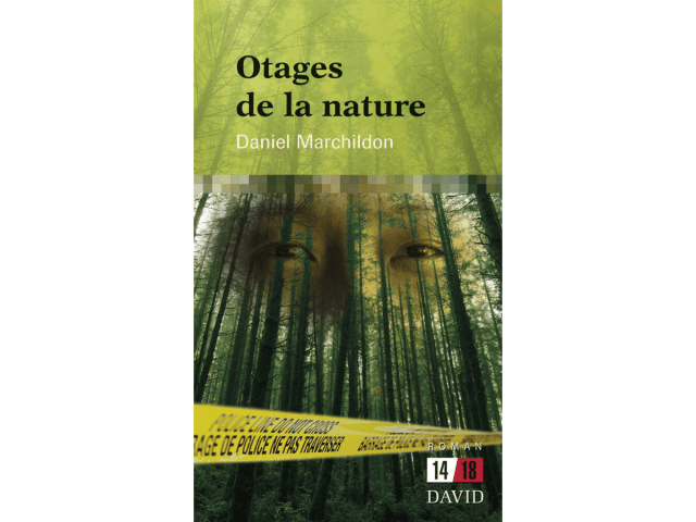 Couverture du livre «Otages de la nature»