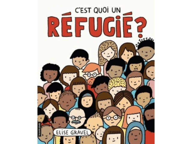 Couverture du livre C'est quoi un réfugié?