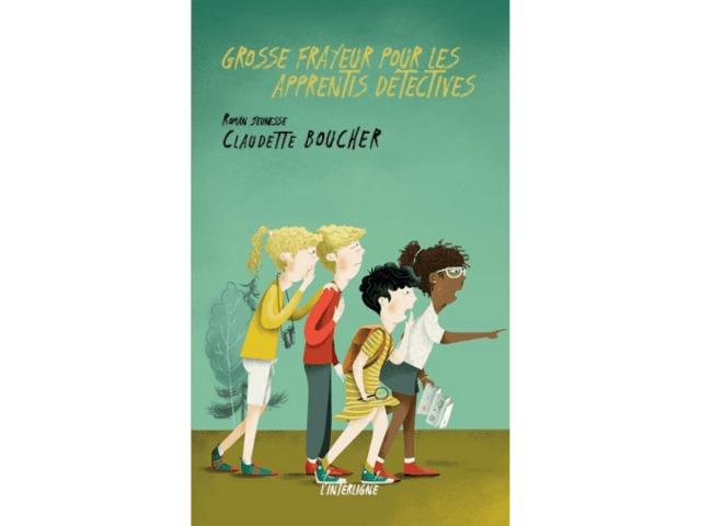 Couverture du livre «Grosse frayeur pour les apprentis détectives»