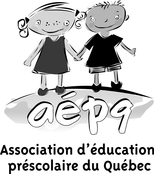 Logo de l'Association d'éducation préscolaire du Québec (AÉPQ)