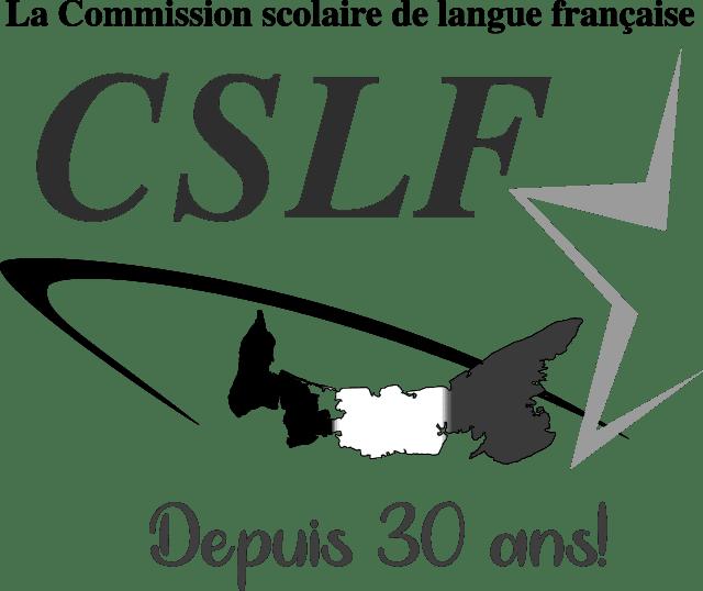 Logo de la Commission scolaire de langue française 30 ans