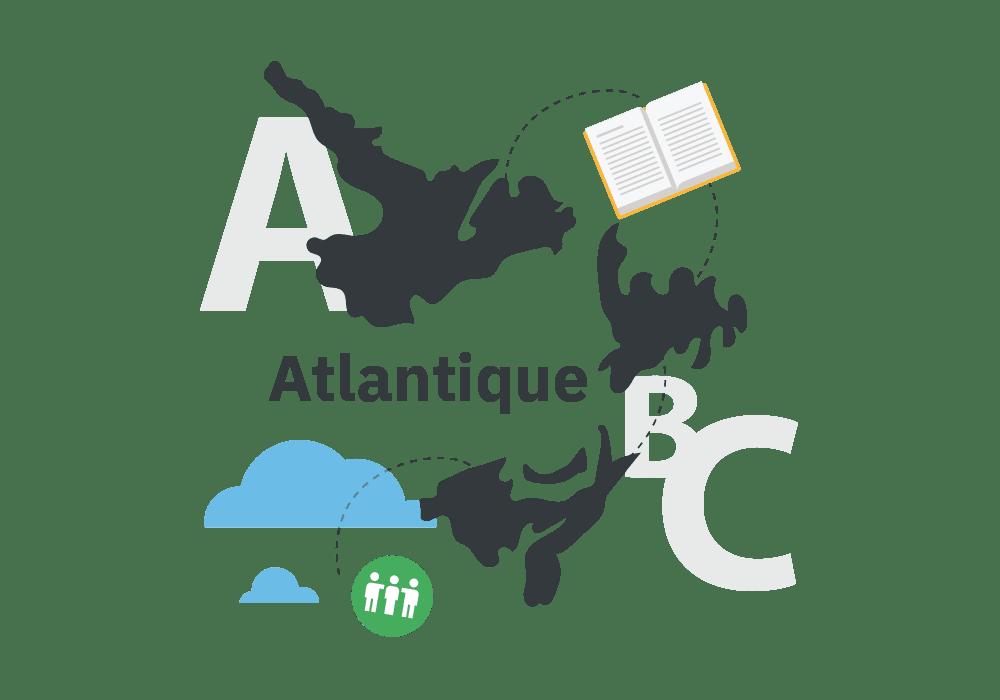 Illustration de l'Atlantique