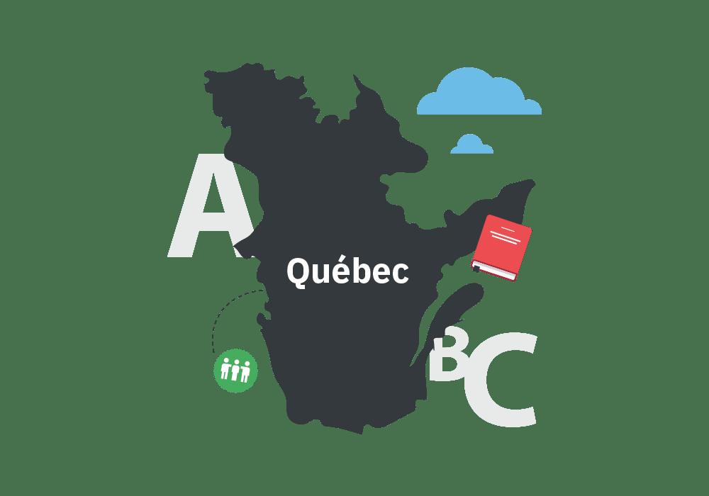Illustration du Québec