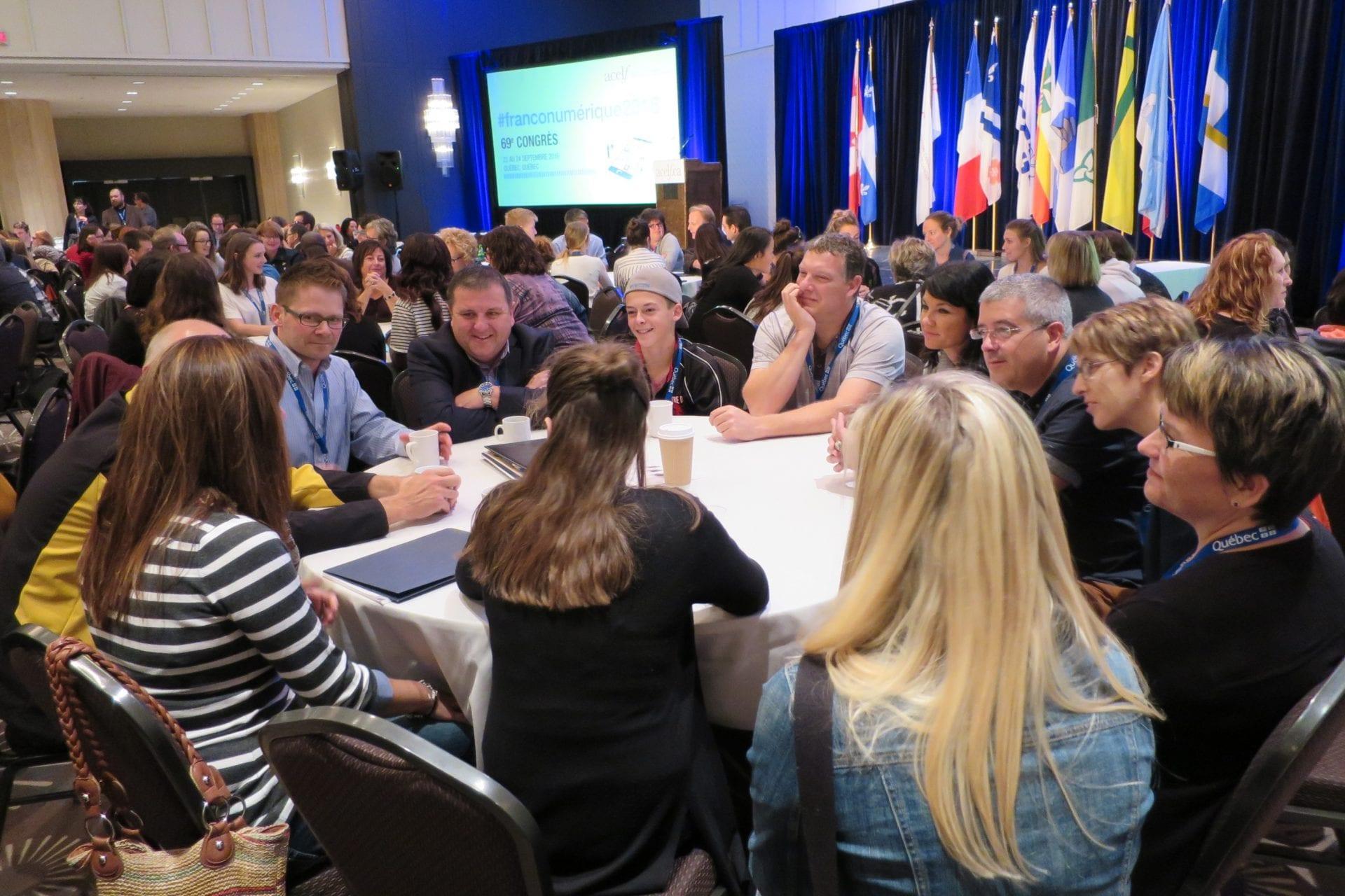 Discussions entres participants