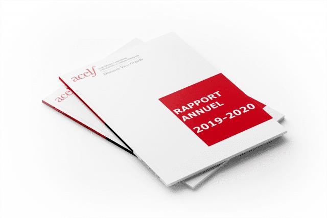 Documents renfermant les derniers rapports annuels de l'ACELF