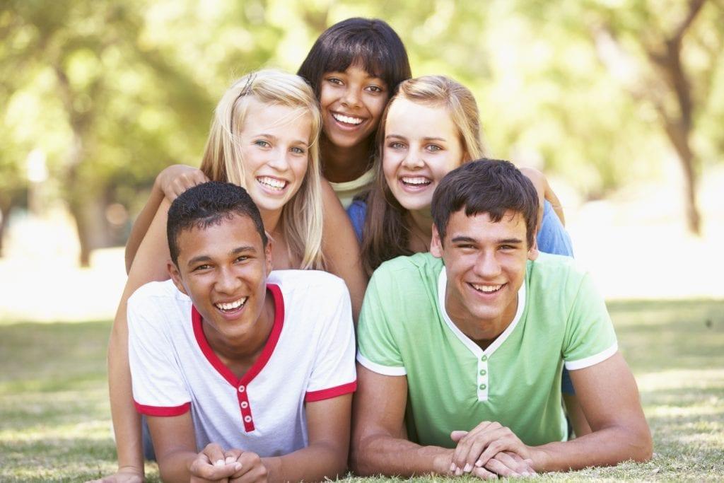 Pyramide d'adolescents