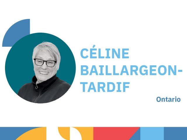 Photo de Céline Baillargeons-Tardif - animatrice au congrès 2021