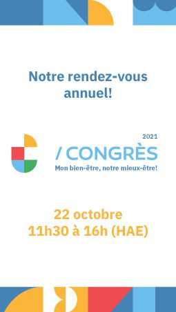 Programmation du congrès 2021