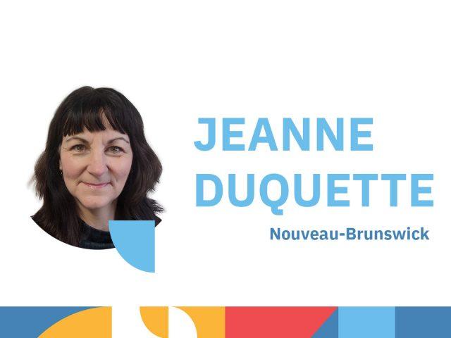 Photo de Jeanne Duquette - animatrice au congrès 2021