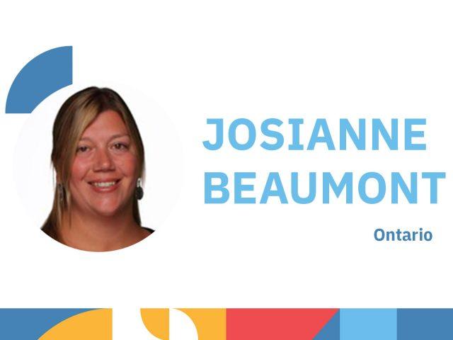 Photo de Josianne Beaumont - animatrice au congrès 2021