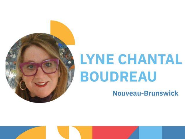 Photo de Lyne Chantale Boudreau - animatrice au congrès 2021